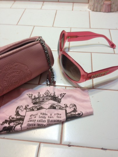 Juicy Couture Juicy couture pink sunglasses