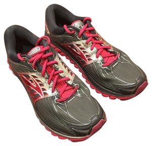 Brooks grey with pink and silver Athletic