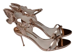 Sophia Webster Metallic Gold Sandals