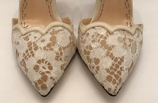 Marchesa Pearl Ivory white lace Pumps Image 2
