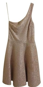 Charlotte Russe Shimmery Champagne Dress