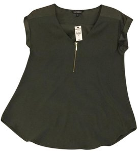 Express Top Army Green