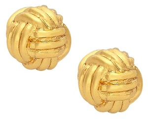 Kate Spade NEW Kate Spade New York Know the Ropes Knot Studs 12k Gold