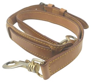 Louis Vuitton leather strap for keep all bandouliere 45 50 55 60