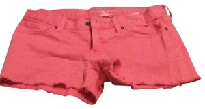 Lucky Brand Mini/Short Shorts Orange
