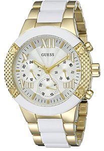 Guess Women's U07701L Sporty Gold Tone Stainless Steel Watch