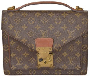 Louis Vuitton Monogram Monceau Attache Cross Body Bag