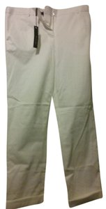 Rachel Roy Straight Pants white
