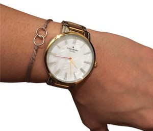 Kate Spade silver gold watch