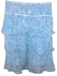 Context Skirt Blue