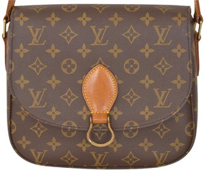 Louis Vuitton Monogram Saint Cloud Saint Cloud Gm Cross Body Bag