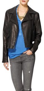 Theory Leather Casual Edgy Leather Jacket
