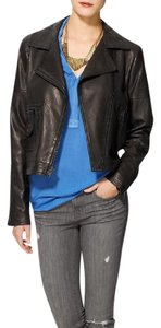 Theory Rocker Casual Edgy Leather Jacket