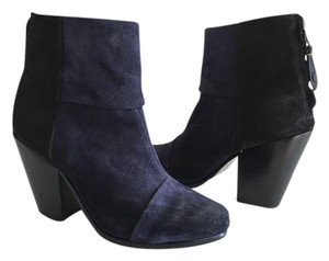 Rag & Bone navy blue and black Boots