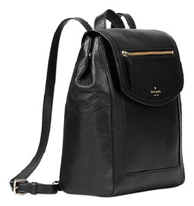 Kate Spade New York Classic Gold Hardware Pebbled Leather Backpack
