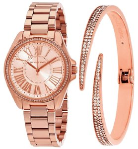 Michael Kors Michael Kors Women's Kacie Rose Gold-Tone Watch Bracelet MK3569