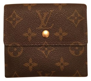 Louis Vuitton Louis Vuitton Porte-Monnaie Billets Monogram Canvas Trifold Wallet
