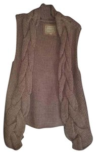 Anthropologie Knit Casual Sleeveless Hi Lo Vest