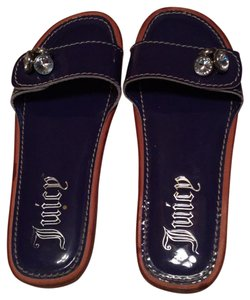 Juicy Couture navy blue Sandals