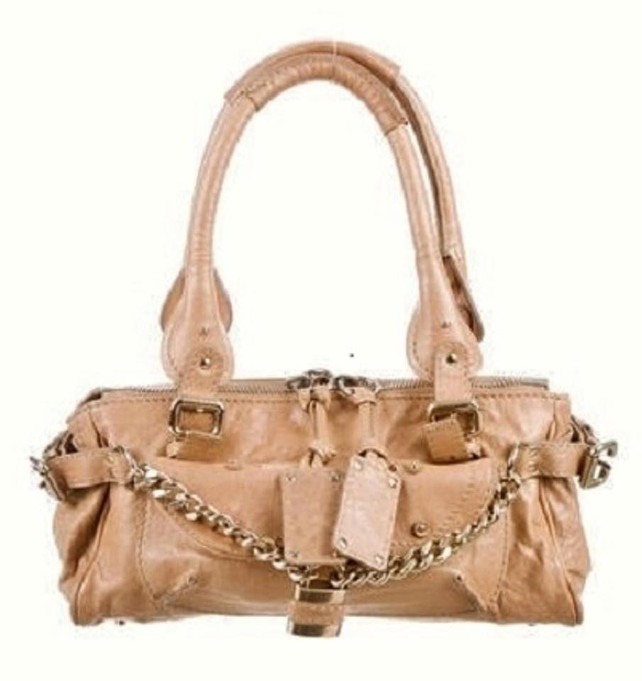 f9bf38c1ae9b Chloé Paddington   Shoulder   Tan Leather Satchel - Tradesy