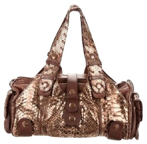 Chloé Paddington Python Rare Python Shoulder Bag