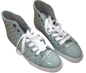 Geox Patent Leather Mint Athletic