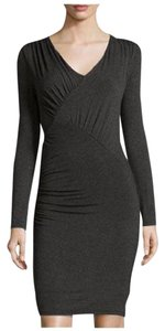 Laundry by Shelli Segal short dress Charcoal on Tradesy