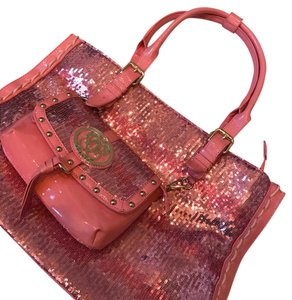 Sharif Tote in pink