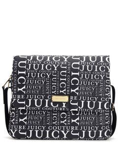Juicy Couture New With Tag Nylon Black & White Diaper Bag
