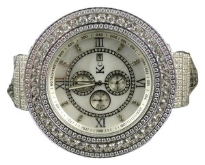 Techno Com by KC 57 Mm Kc/Joe Rodeo Techno Com White Simulated Diamond Watch