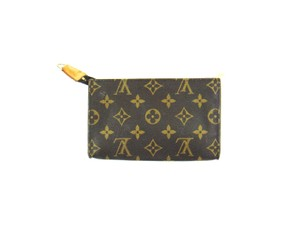 Louis Vuitton Monogram Canvas Pochette Toilette 17 Cosmetics Travel Dopp Bag