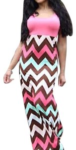 Coral Red Maxi Dress by Other
