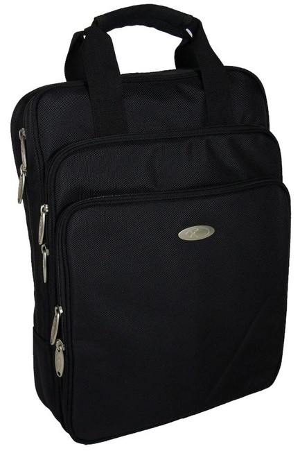 Item - Laptop Durable Computer Bags For Laptops - Black Polyester Fabric Backpack