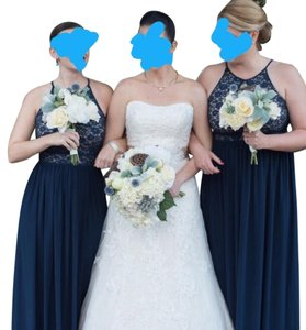 Bridal Bouquet And Two Bridesmaid Bouquets