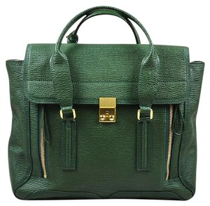 3.1 Phillip Lim Pashli Jade Tote Satchel in Jade Green