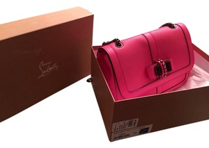 Christian Louboutin Pink Messenger Bag