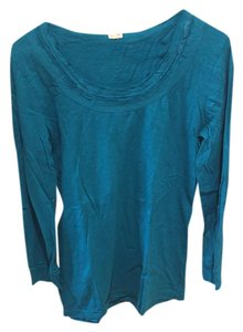 J.Crew Shirt Casual T Shirt teal