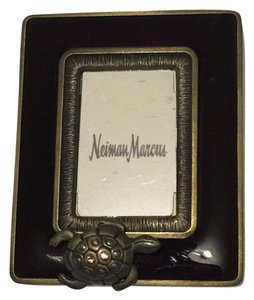 Jay Strongwater Jay Strongwater/Neiman Marcus Burg Gold Turtle Mini Picture Frame