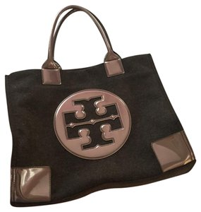 Tory Burch Satchel in metallic brown/ bronze