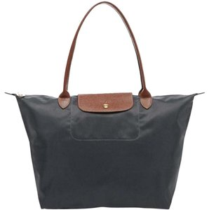 Longchamp Tote in Gray