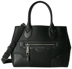 Marc Jacobs Haze Gotham Leather Tote Satchel in Black