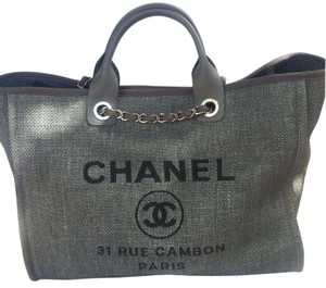 Chanel Deauville Deauville Tote in Grey