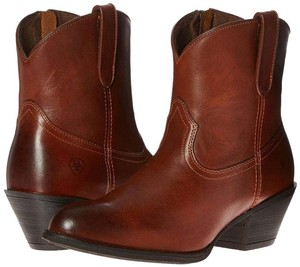 Ariat Western Style Redwood Leather Redwood brown Boots