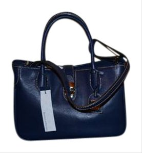 Dooney & Bourke Satchel in Marine Blue