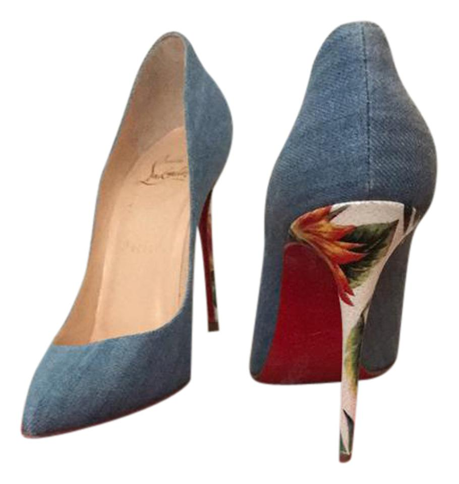 half off d0e72 60446 Denim Pumps