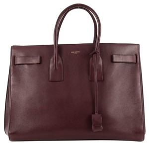 Saint Laurent Leather Satchel