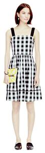 Kate Spade short dress Black and White Gingham Broomestreet Picnic on Tradesy