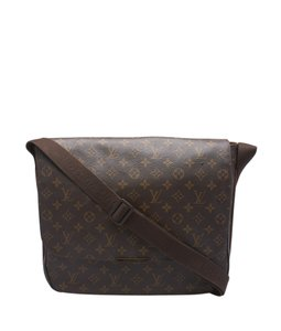 Louis Vuitton Monogram Coated Canvas Lv Shoulder Bag