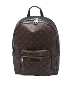Louis Vuitton Lv Coated Canvas Backpack