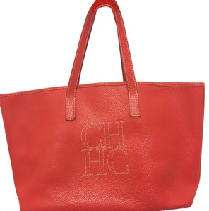 Carolina Herrera Tote in red